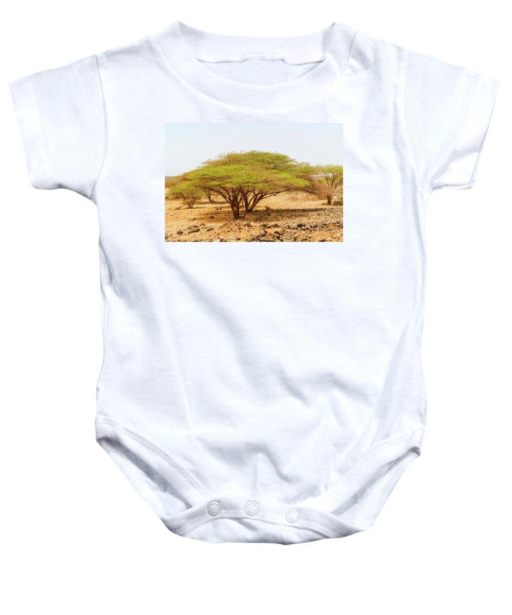 Landscape Baby Onesie featuring the photograph Trees In Kenya by Marek Poplawski