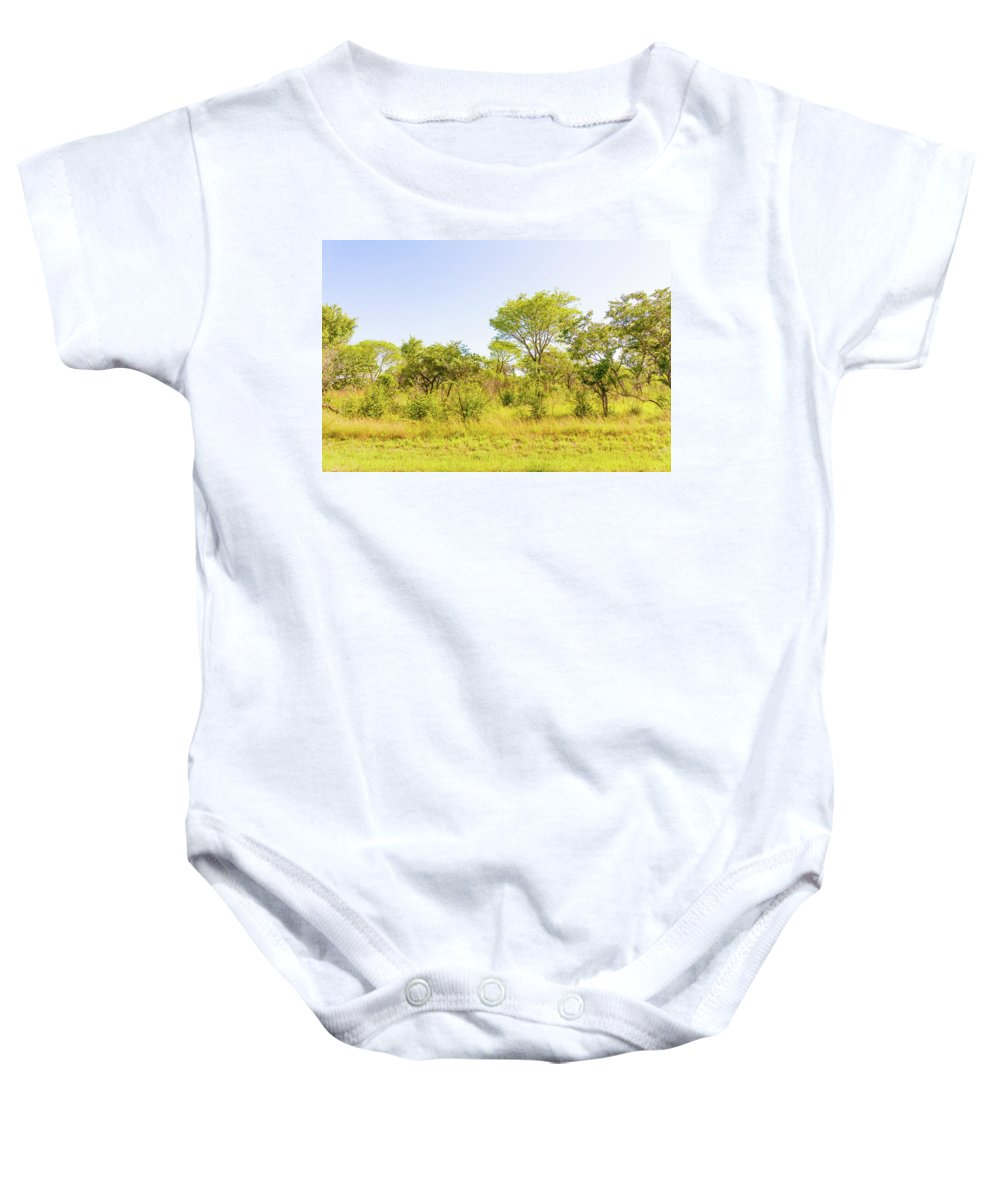Trees Baby Onesie featuring the photograph Trees In Zambia by Marek Poplawski