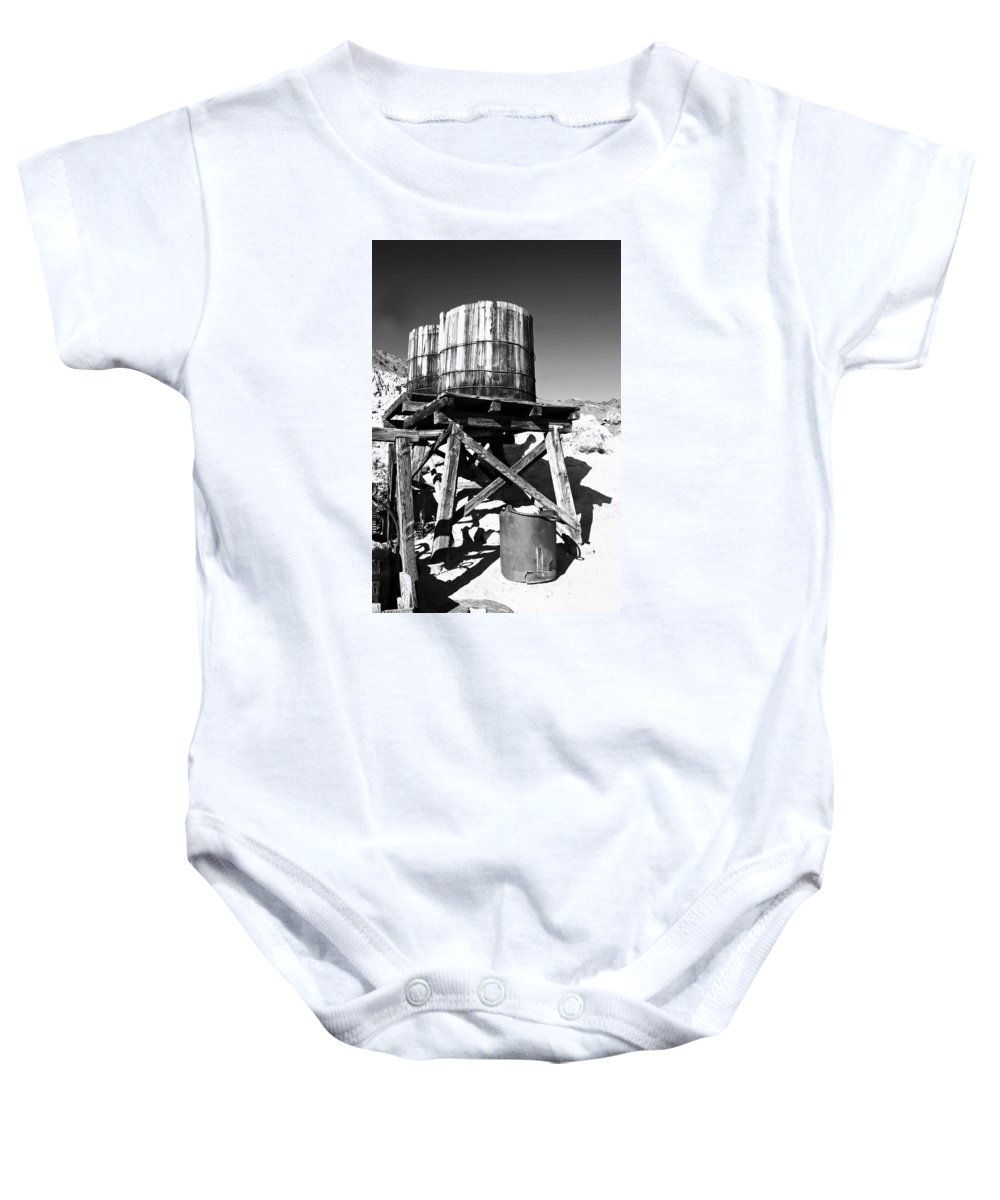 Cask Baby Onesie featuring the photograph Twin Casks by Alex Antoine