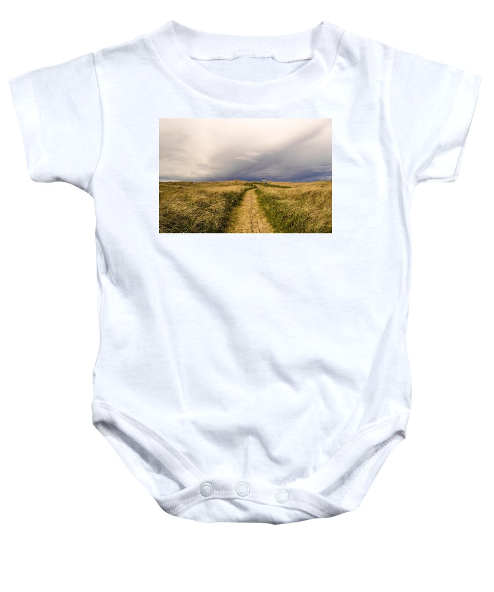 Beach Baby Onesie featuring the photograph Untitled by Indecisivelykat Photography