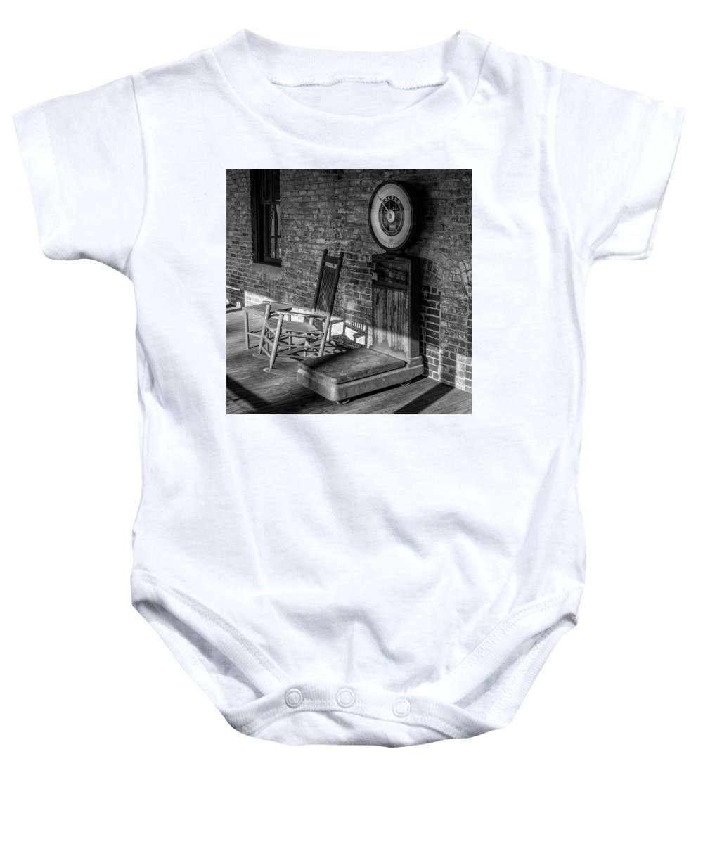 Baby Onesie featuring the photograph Weight by Rodney Lee Williams