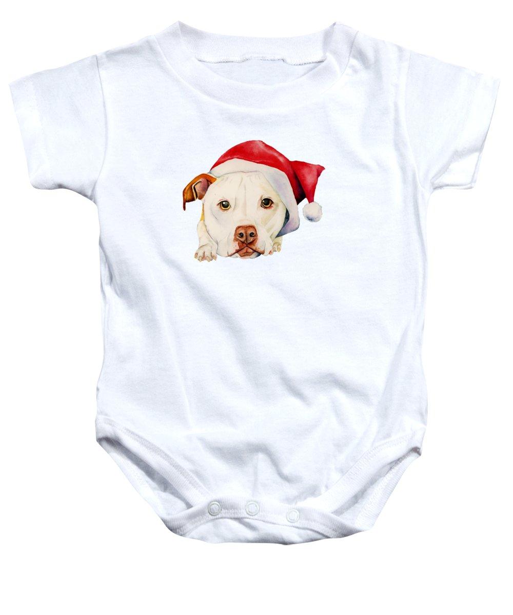 Pitbull Baby Onesies