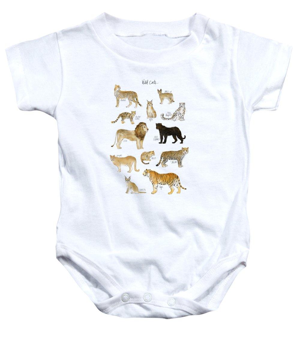 Cheetah Baby Onesies