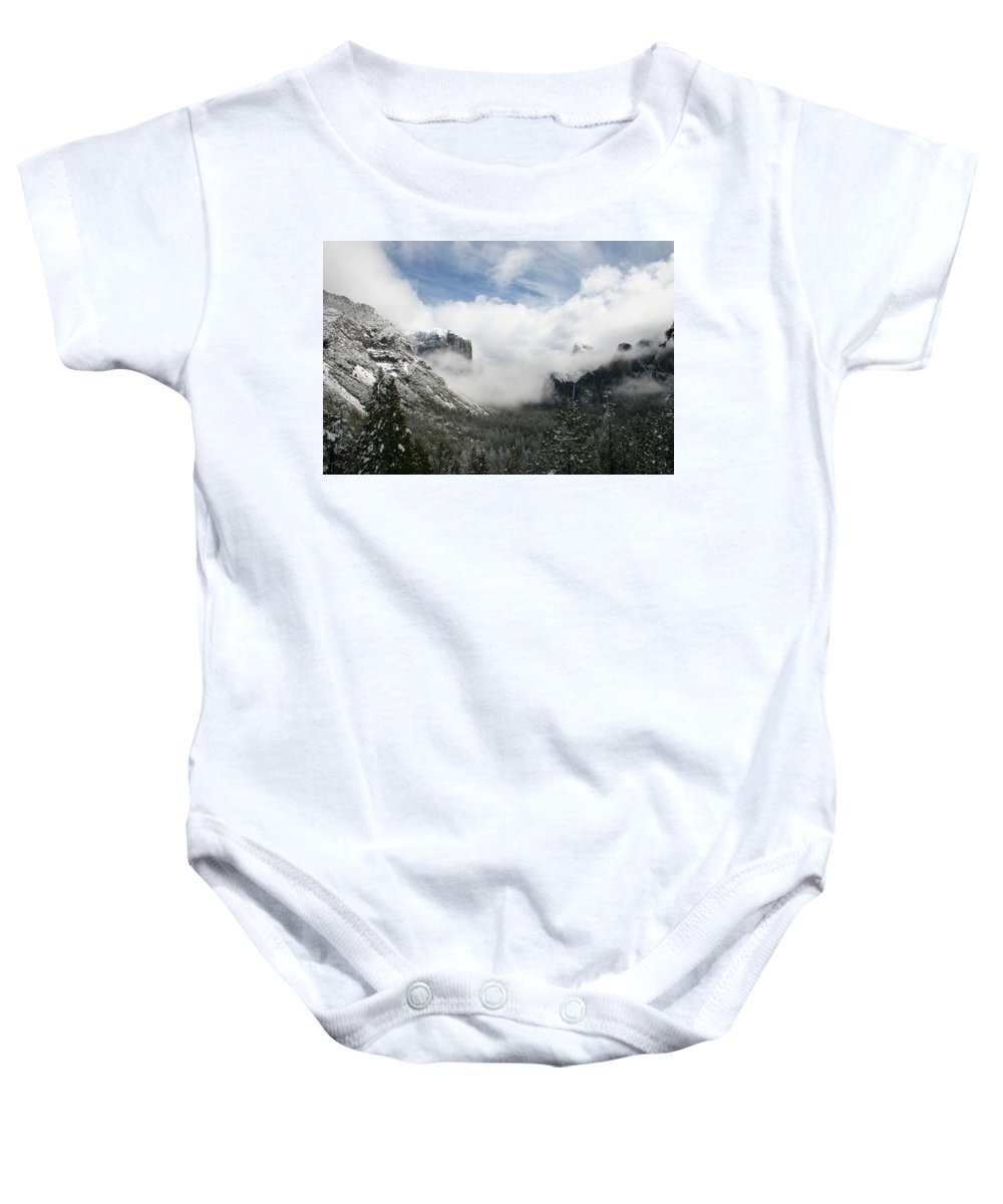 Landscape Baby Onesie featuring the photograph Winter Inspiration by Travis Day