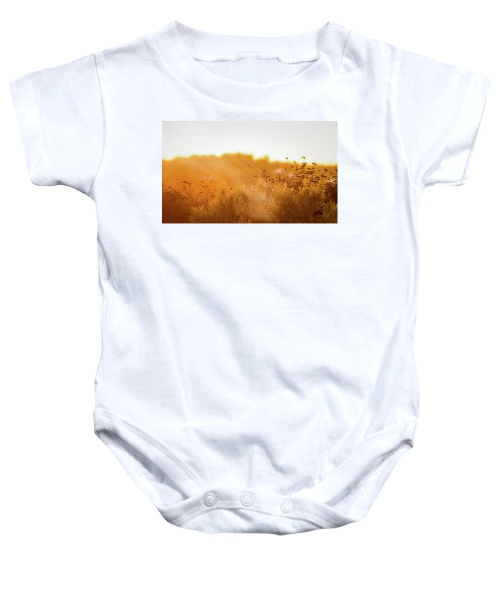 Landscape Baby Onesie featuring the photograph Winter Light by Nicolas Bellver