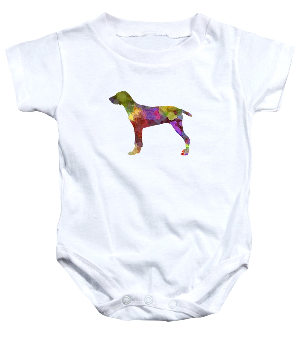 Wirehaired Pointing Griffon Baby Onesies   Pixels