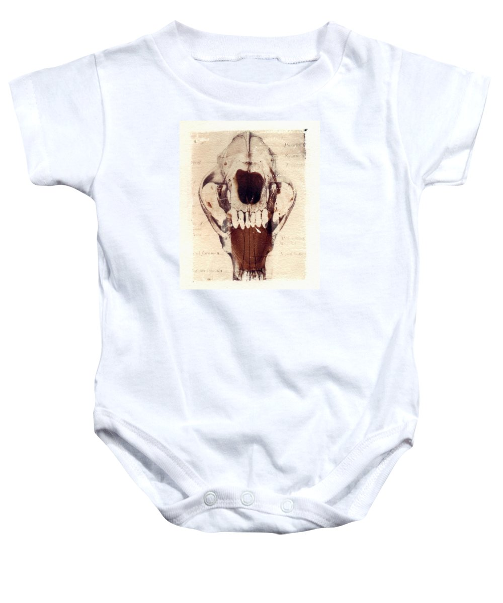 Polaroid Baby Onesie featuring the photograph X Ray Terrestrial by Jane Linders