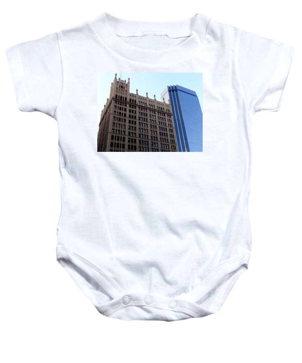 Dallas Baby Onesie featuring the photograph Yesterday And Tomorrow by Larissa Pirogovski