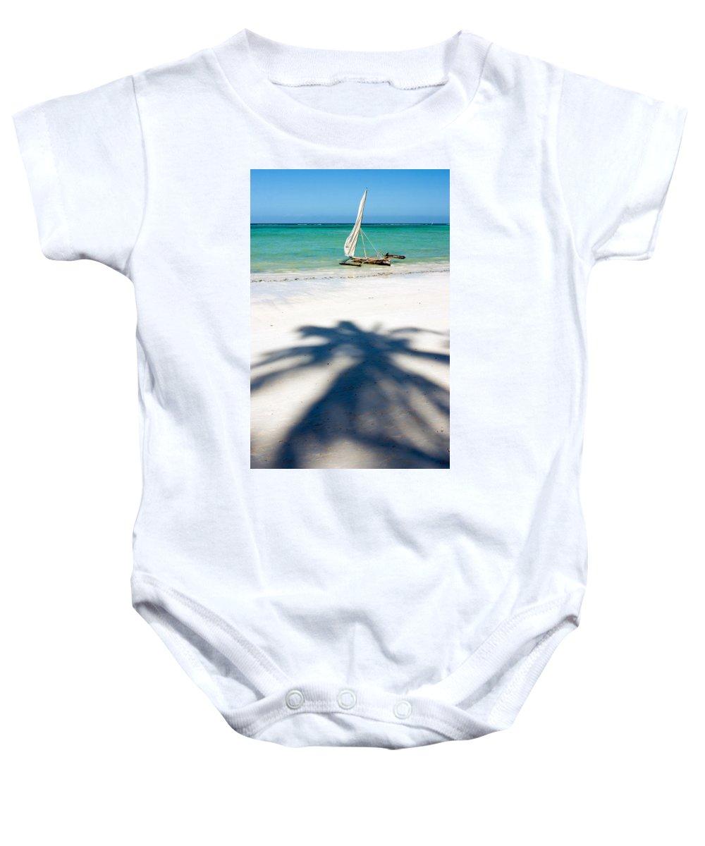 3scape Photos Baby Onesie featuring the photograph Zanzibar Beach by Adam Romanowicz