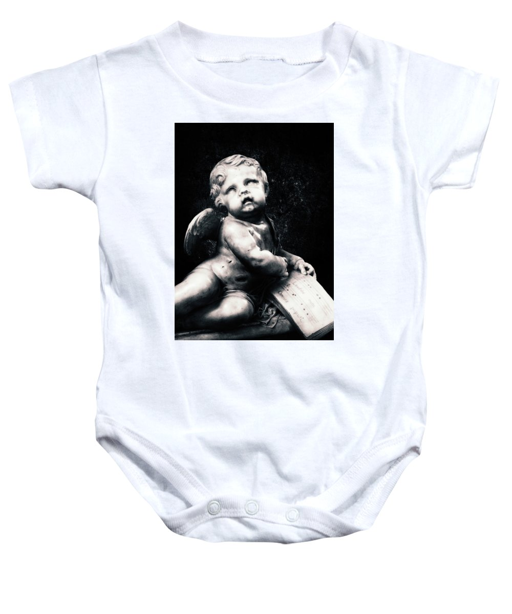 Angel Baby Onesie featuring the photograph Berceuse by Iryna Goodall
