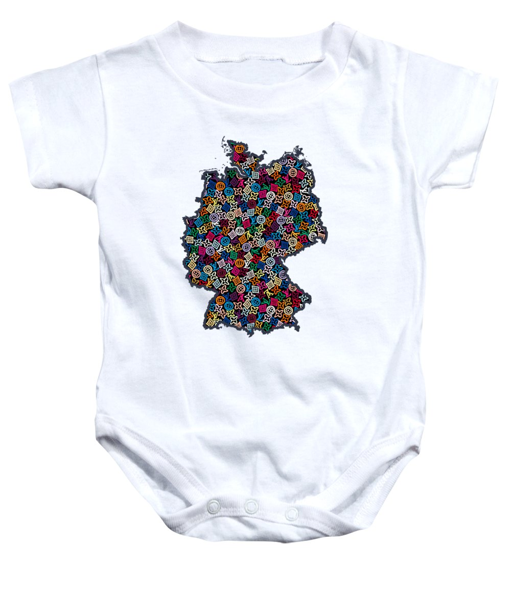 Map Of Germany For Sale.Map Of Germany 1 Baby Onesie