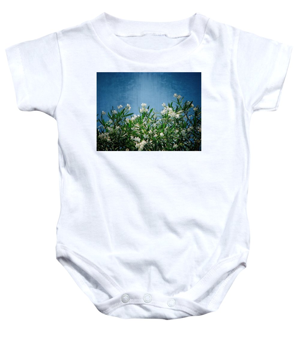 Wildflowers Baby Onesie featuring the photograph Summer Wildflowers by Carolyn Marshall