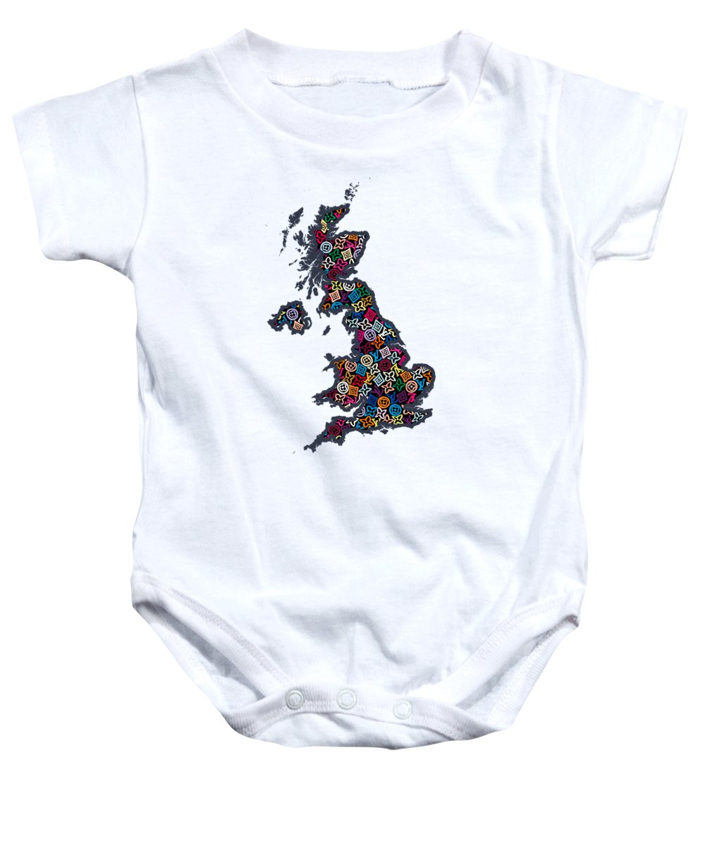 Great Britain Baby Onesies