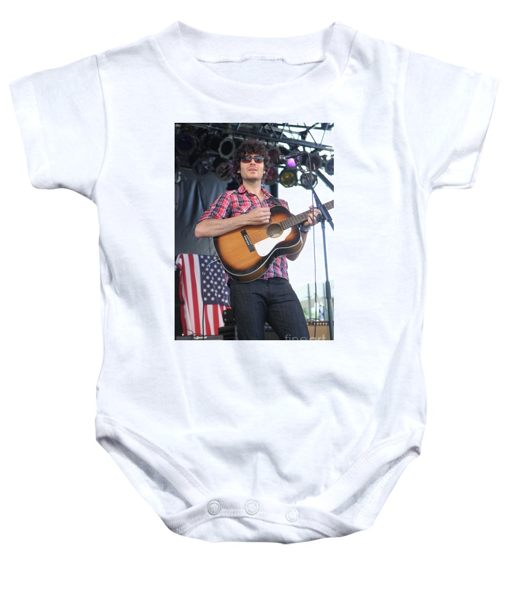 Guitar Baby Onesie featuring the photograph Will_dailey by Concert Photos