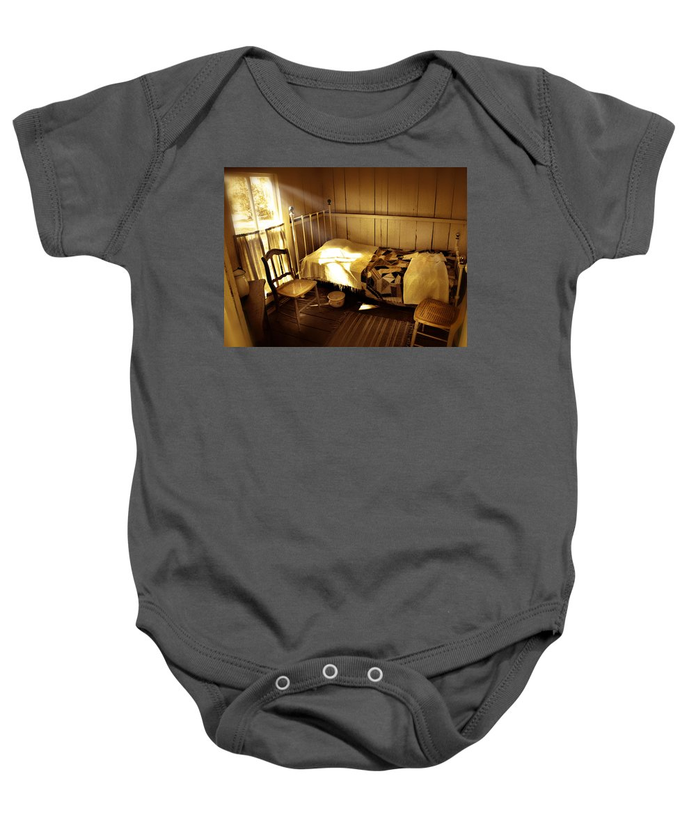Bedroom Baby Onesie featuring the photograph Dreams by Mal Bray