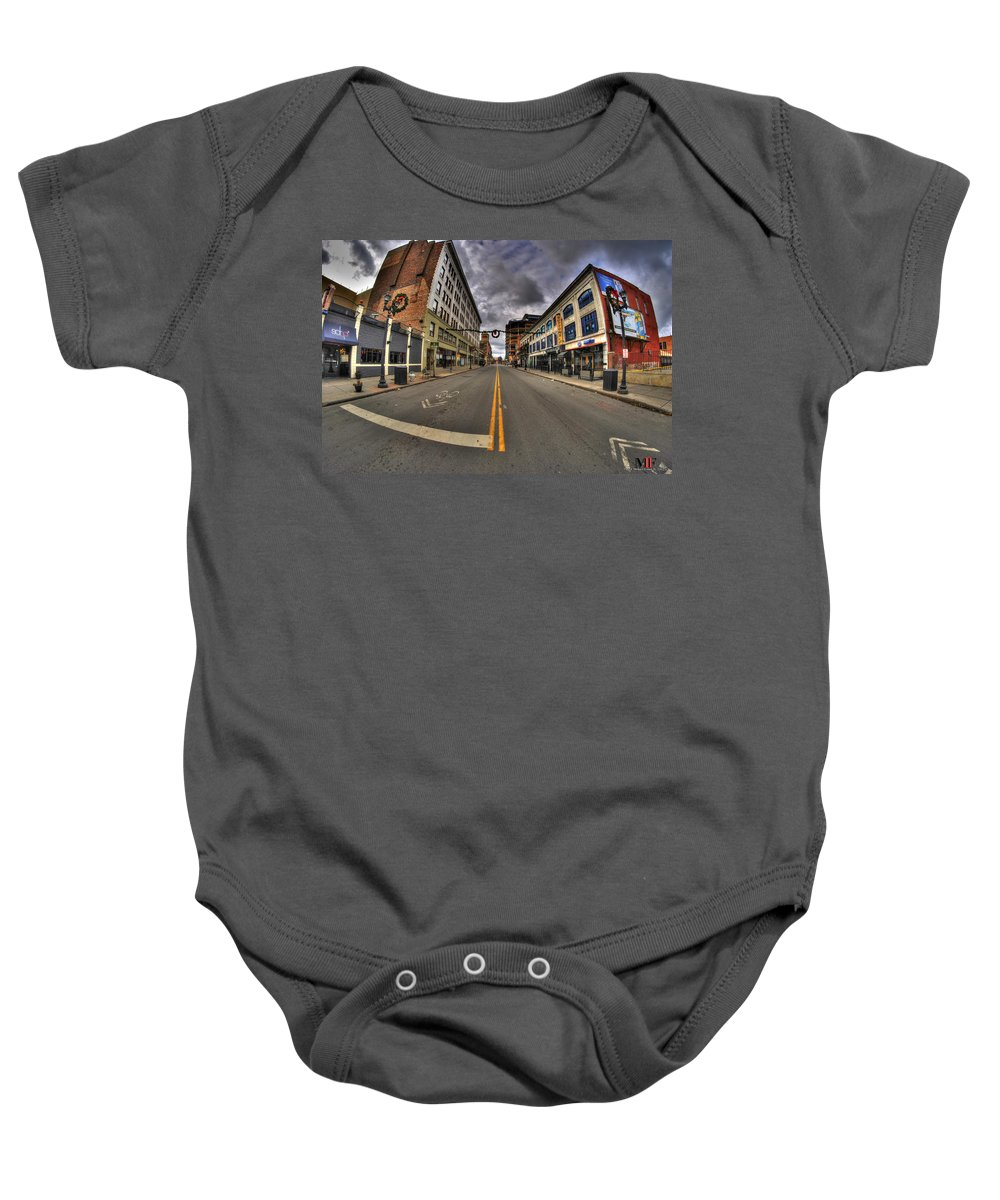 Michael Frank Jr Baby Onesie featuring the photograph 0014 The Chipp Stripp by Michael Frank Jr