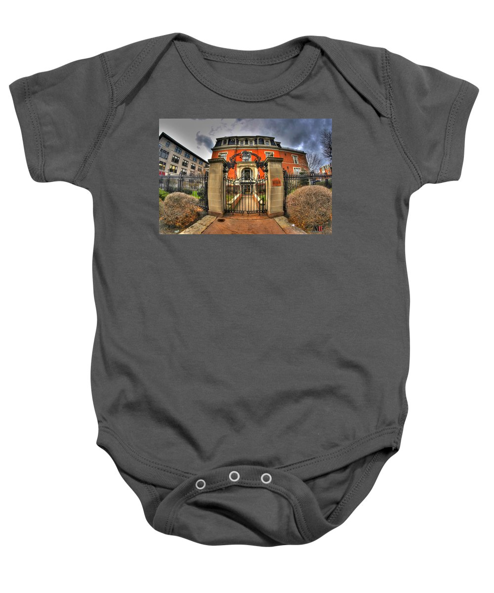 Michael Frank Jr Baby Onesie featuring the photograph 009 The Buffalo Club by Michael Frank Jr