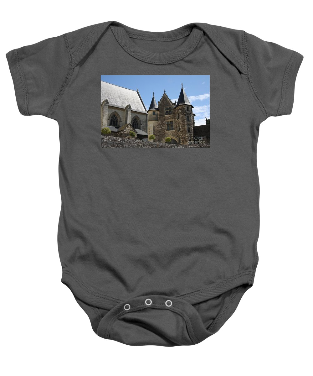 Castle Baby Onesie featuring the photograph Chateau D'angers by Christiane Schulze Art And Photography