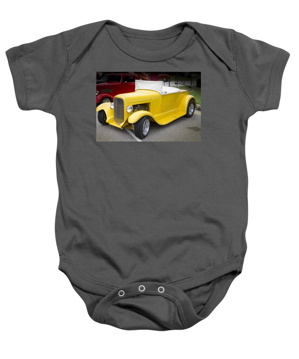 American Baby Onesie featuring the photograph Deep Yellow by Jack R Perry
