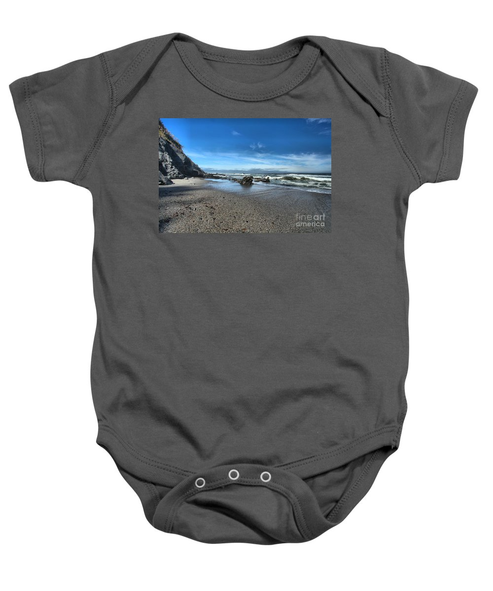 Patrick's Point Baby Onesie featuring the photograph Patrick's Point Landscape by Adam Jewell