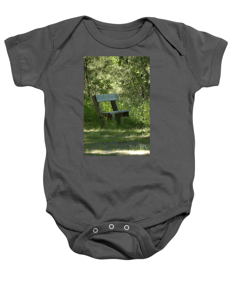 Atlanta Baby Onesie featuring the photograph Rest by Joseph Yarbrough