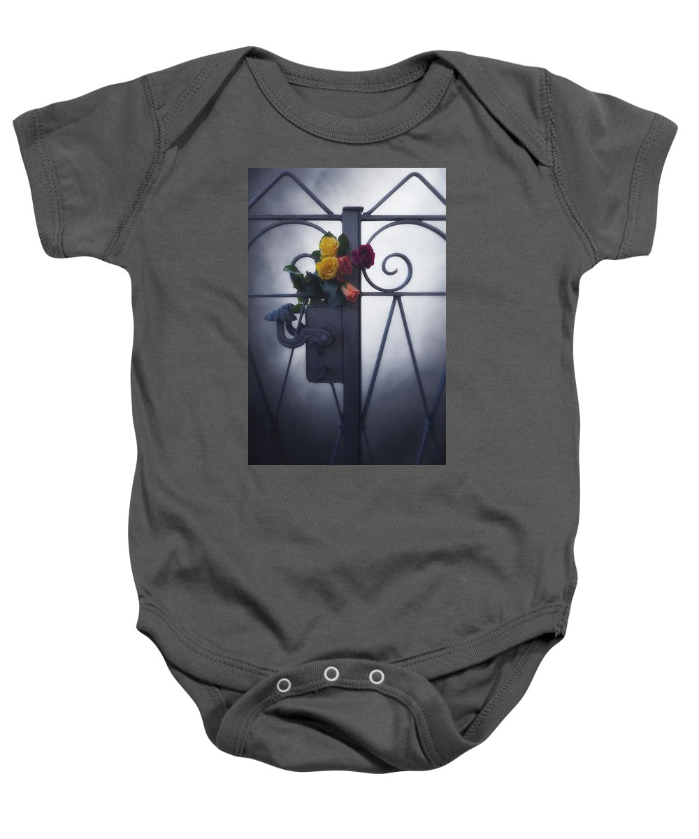 Flower Baby Onesie featuring the photograph Roses by Joana Kruse