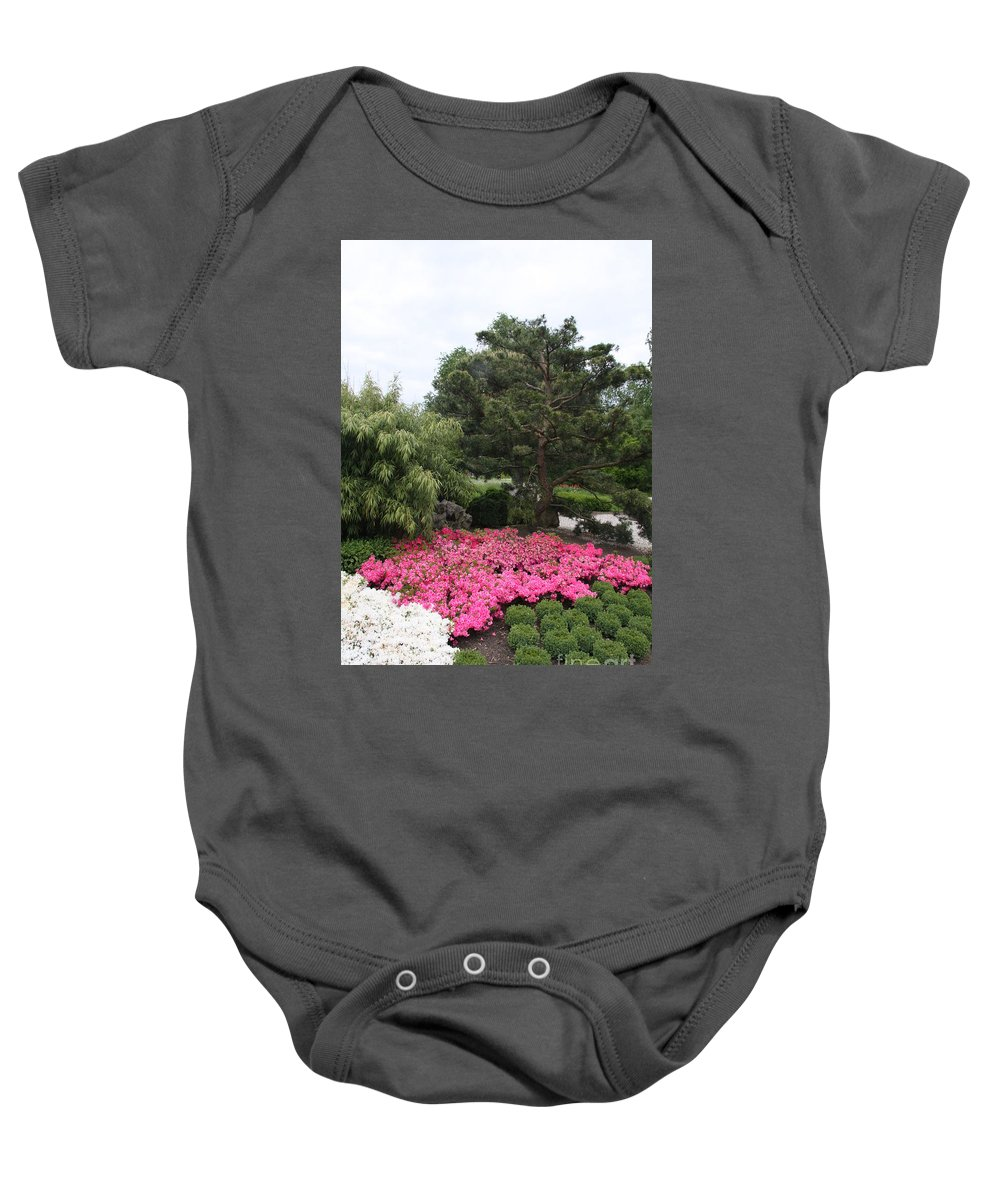 Spring Baby Onesie featuring the photograph Springtime In The Park by Christiane Schulze Art And Photography