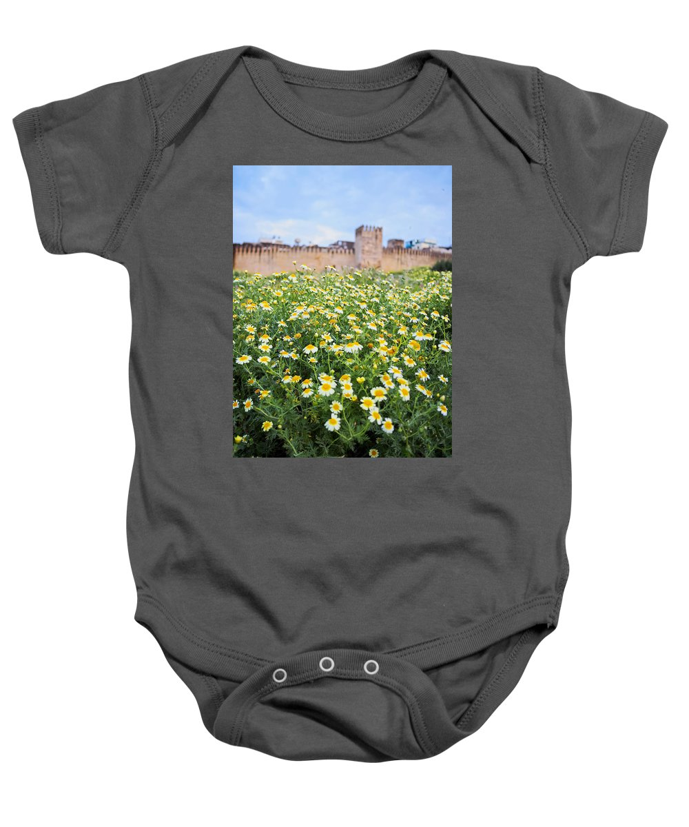 Africa Baby Onesie featuring the photograph Walls Of Fes In Morocco by Karol Kozlowski