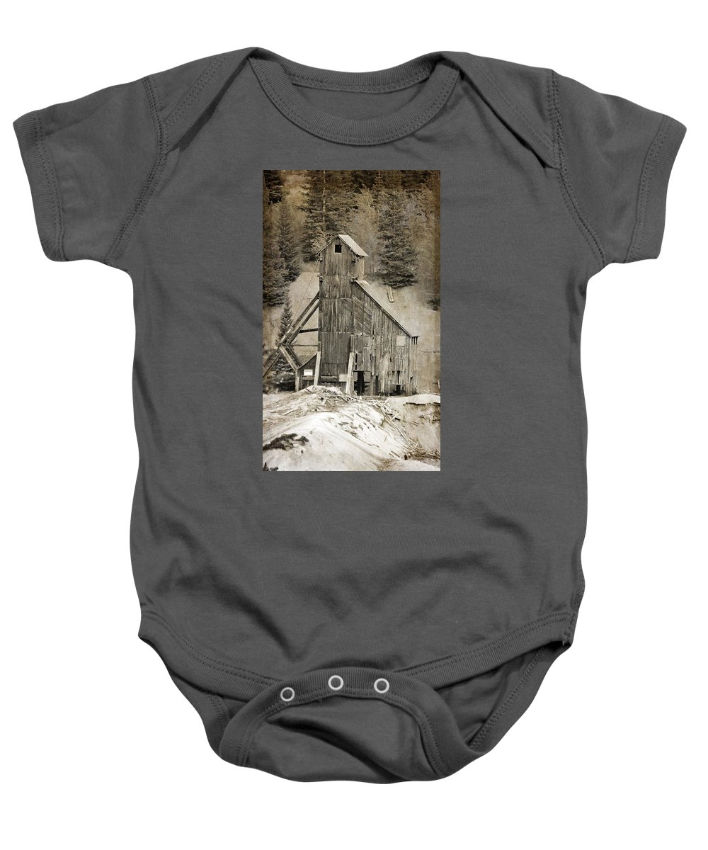 Yankee Girl Mine Baby Onesie featuring the photograph Yankee Girl Mine by Dan Sproul