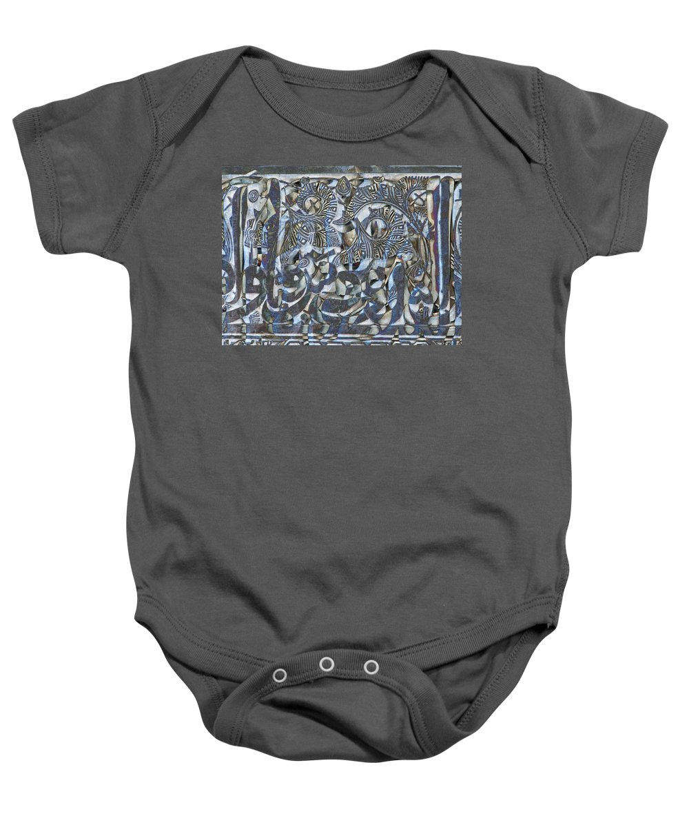 Geometric Baby Onesie featuring the photograph 1002 Nights by Candee Lucas