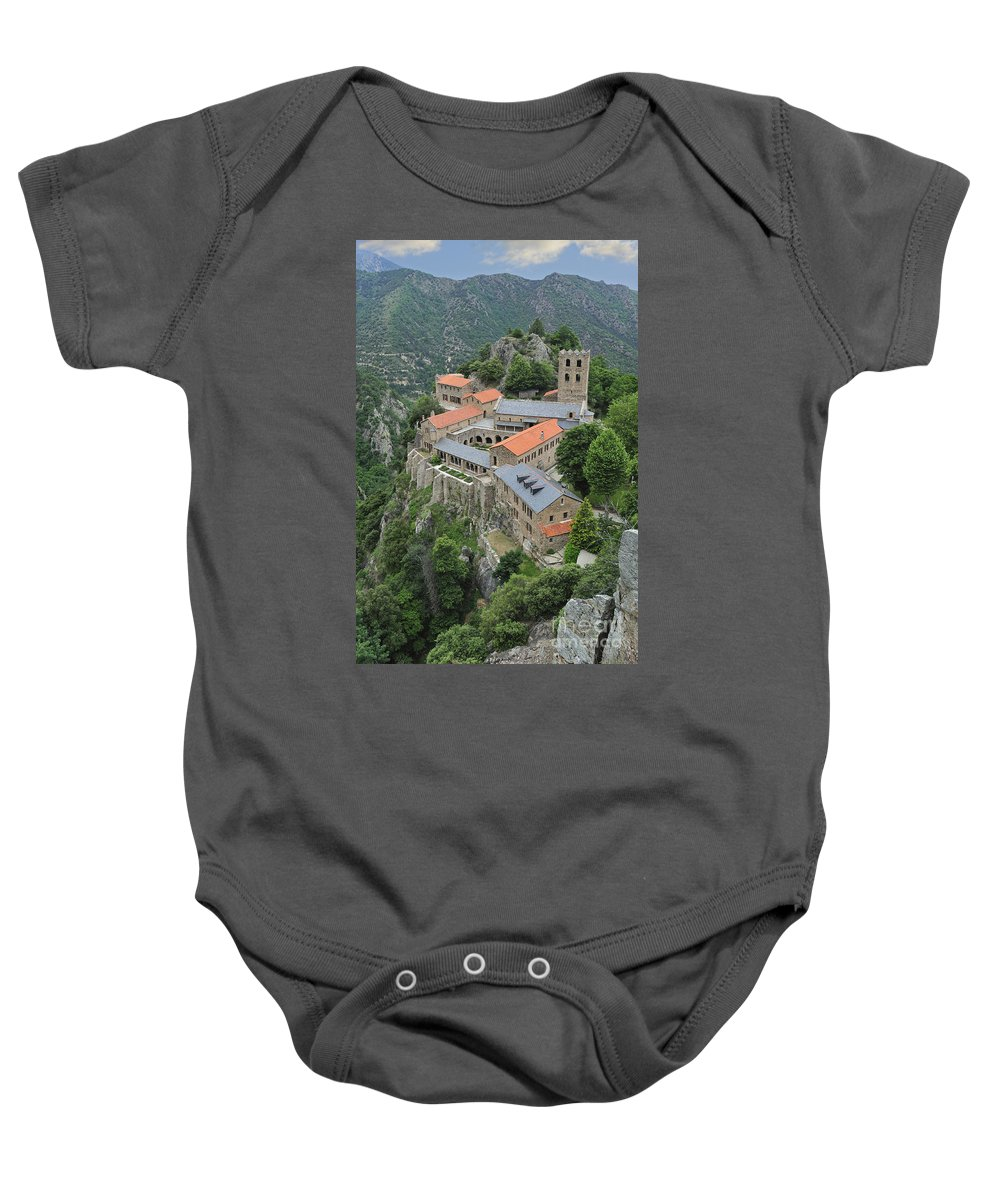Martin-du-canigou Baby Onesie featuring the photograph 120520p135 by Arterra Picture Library