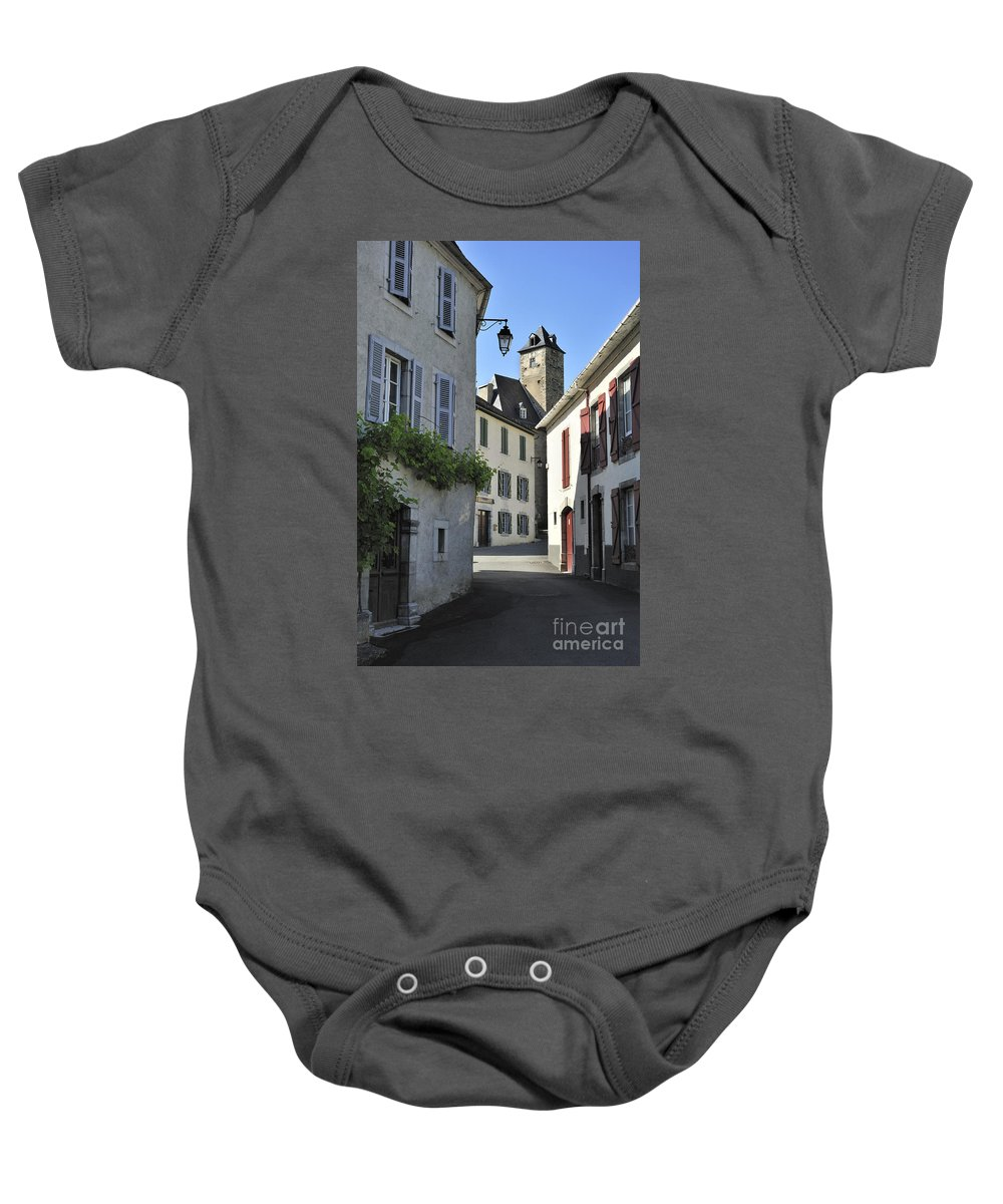 Abbey Baby Onesie featuring the photograph 120520p180 by Arterra Picture Library