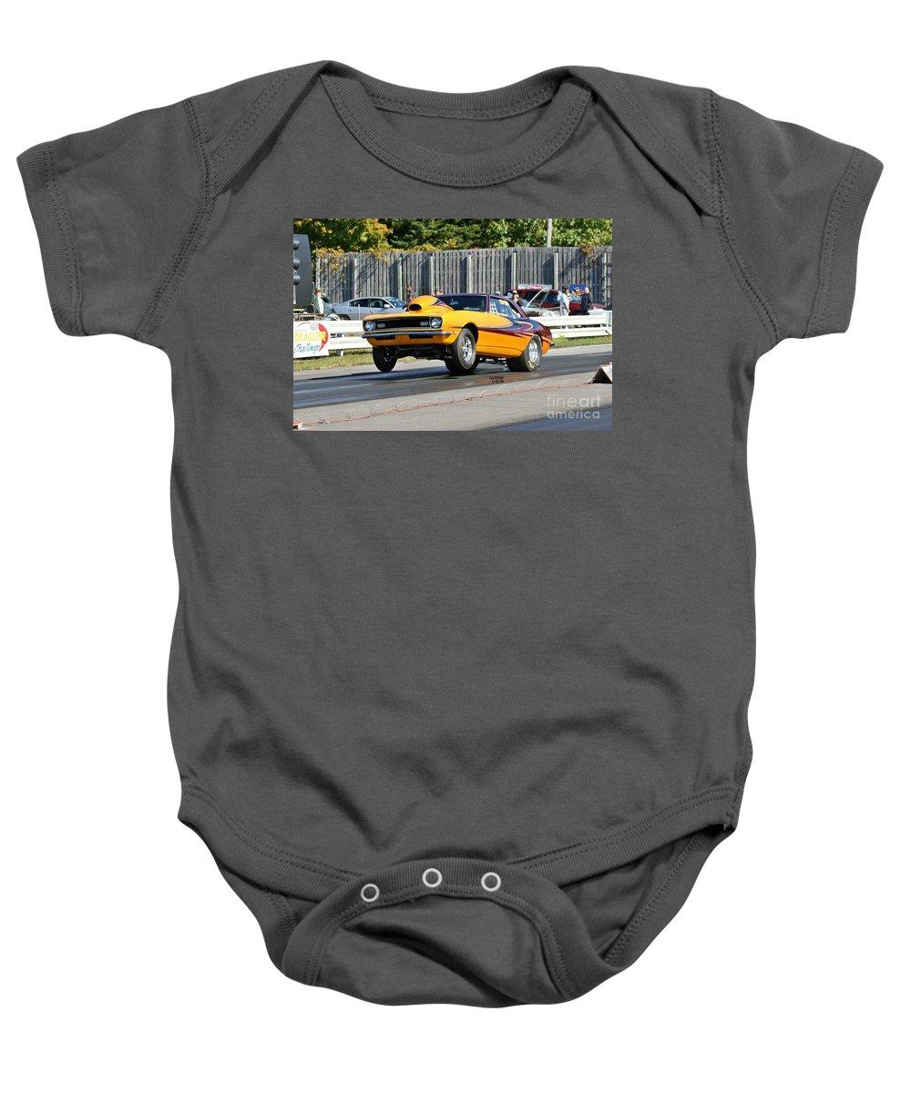 Esta Safety Park Baby Onesie featuring the photograph Esta Safety Park 10-12-14 by Vicki Hopper