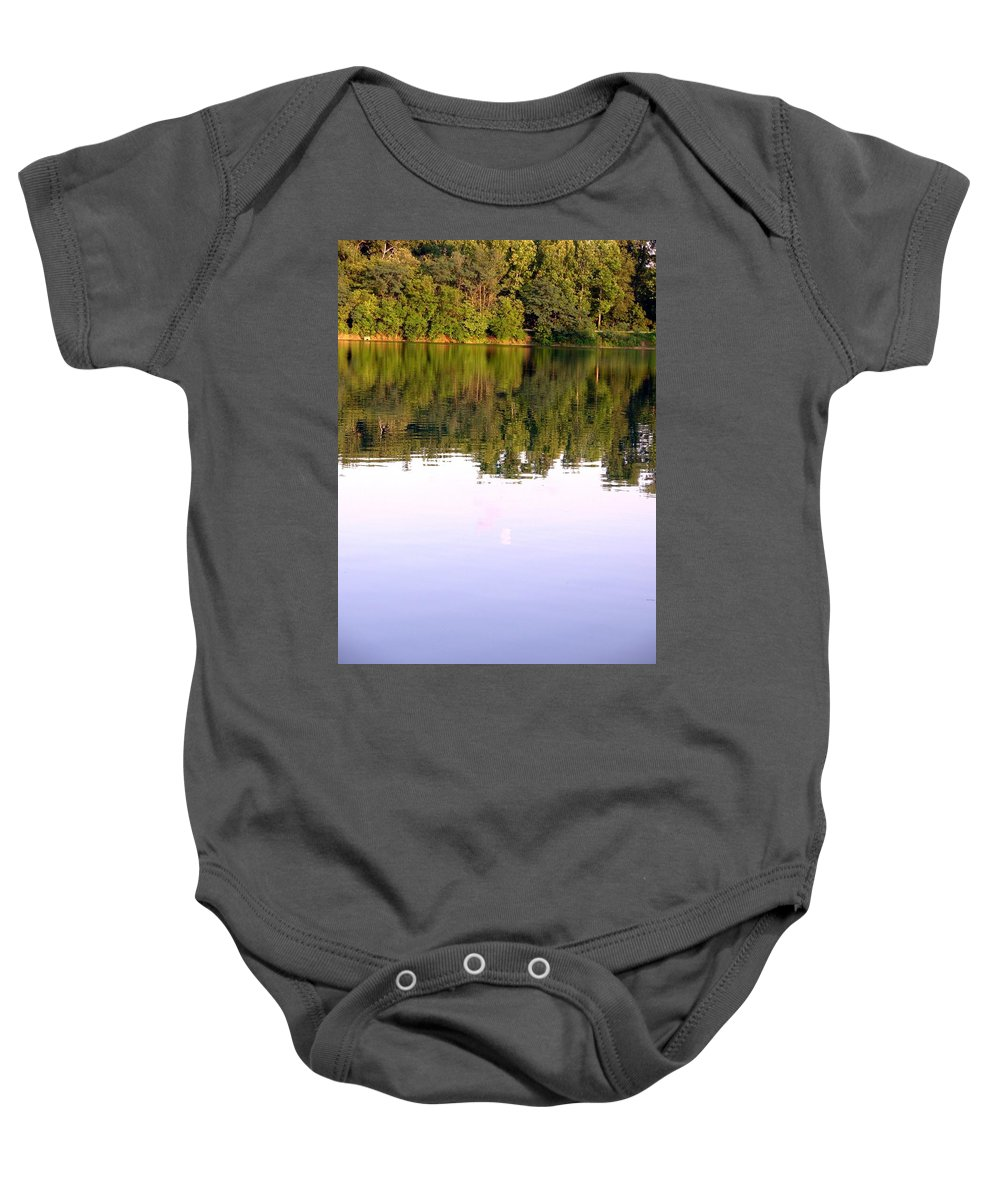 Lake Baby Onesie featuring the photograph 1276c by Kimberlie Gerner