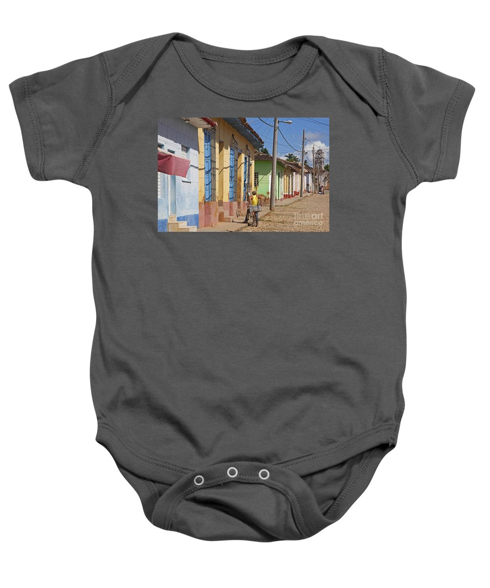 Pastel Baby Onesie featuring the photograph 130215p070 by Arterra Picture Library