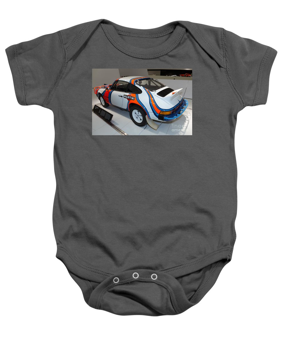 3d Baby Onesie featuring the photograph 1978 Porsche 911 Sc by Paul Fearn