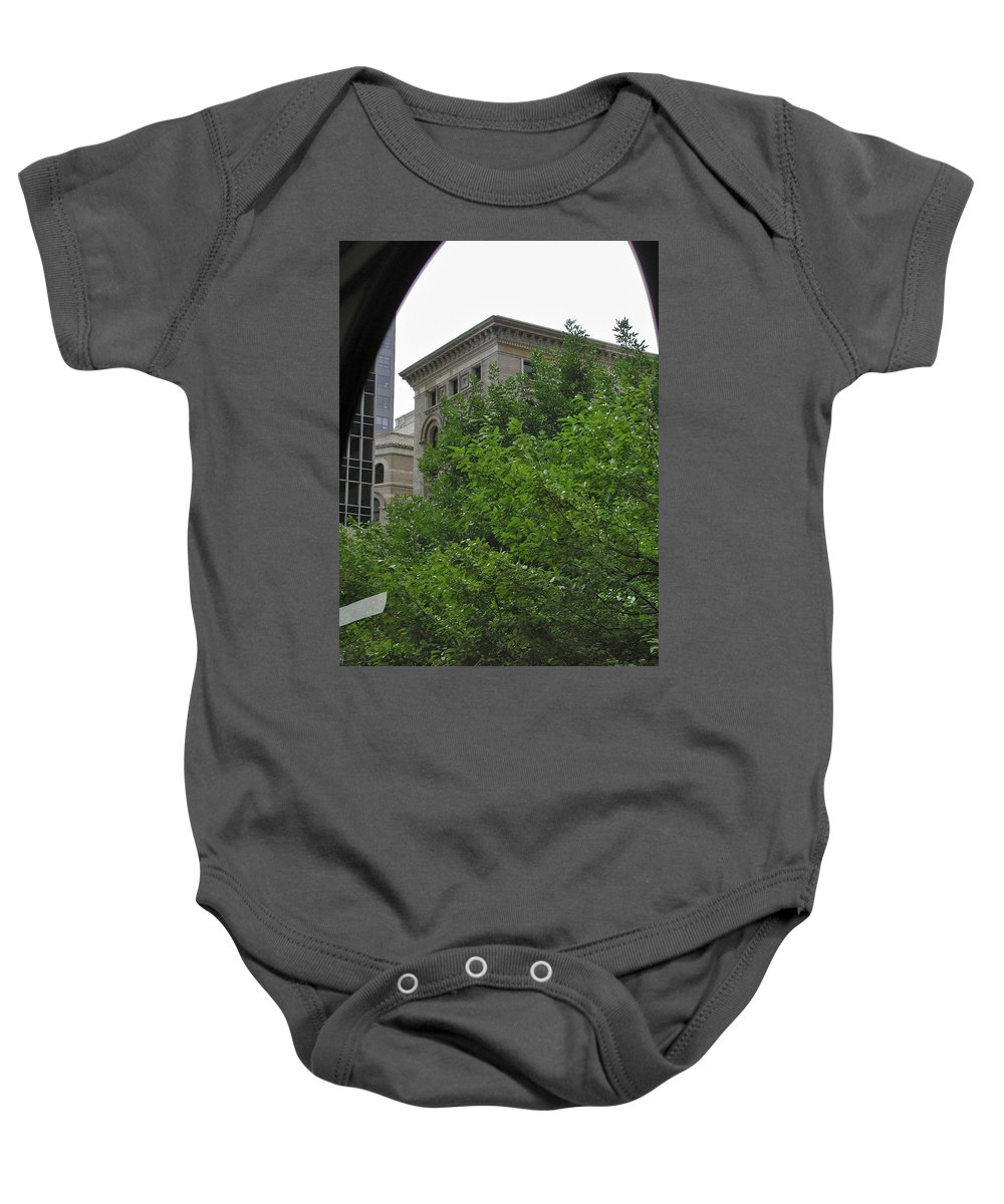 Arch Baby Onesie featuring the photograph Arch by Joseph Yarbrough