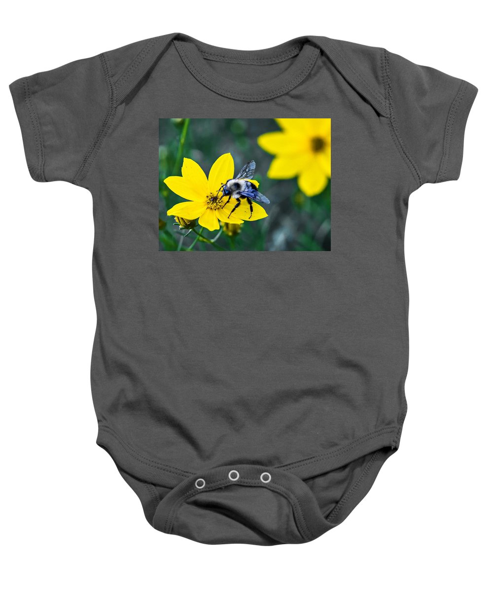 Flower Baby Onesie featuring the photograph Do Not Disturb by Steve Harrington