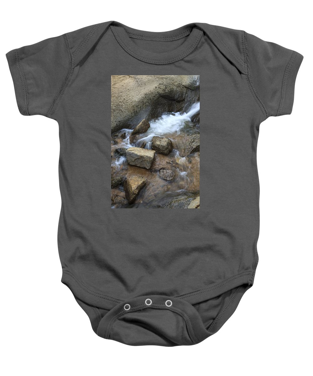American West Baby Onesie featuring the photograph Helen Hunt Falls by Richard Smith