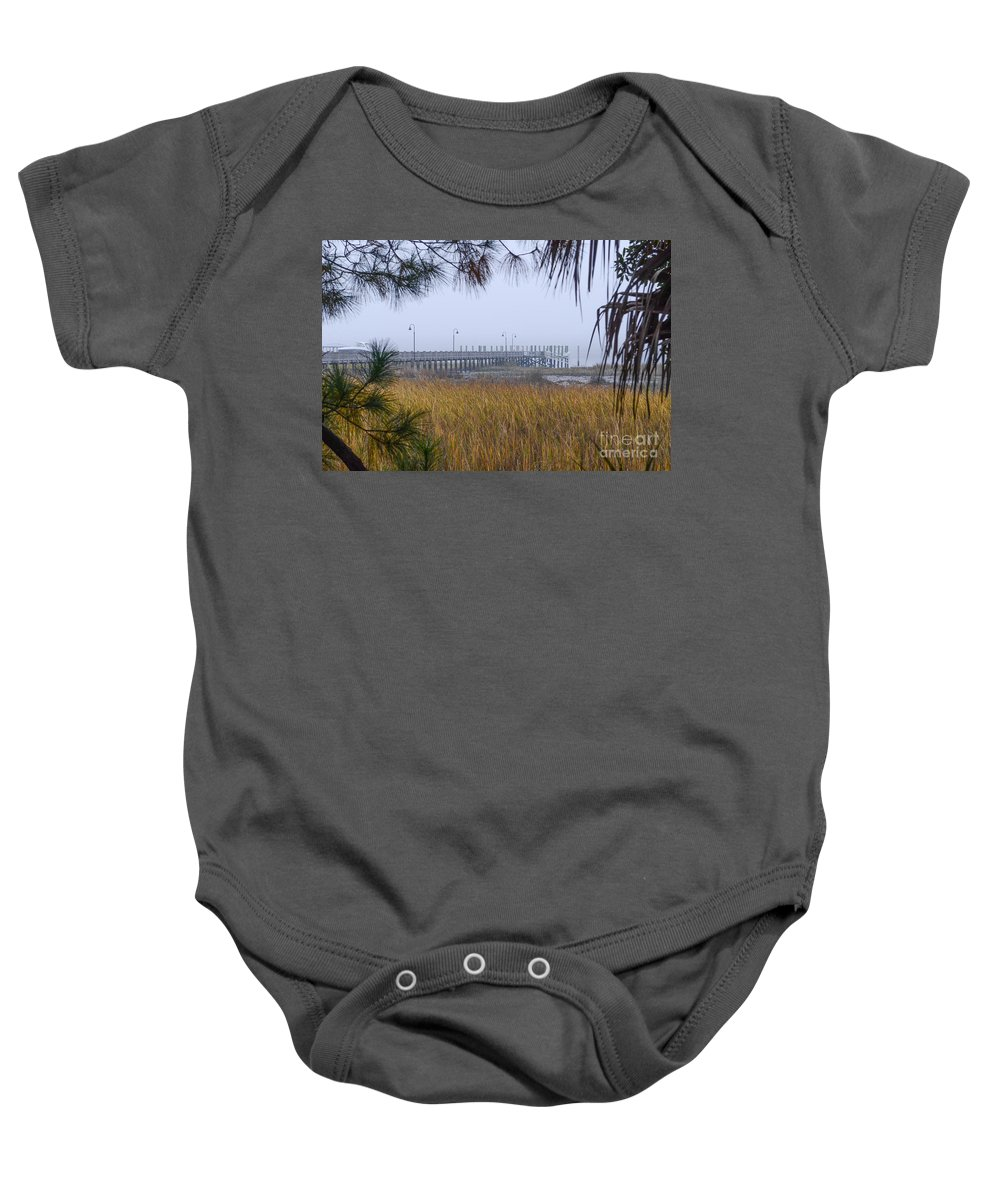 Fog Baby Onesie featuring the photograph Southern Fog by Dale Powell