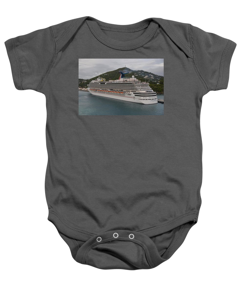 Carnival Baby Onesie featuring the photograph Carnival Dream by Richard Booth