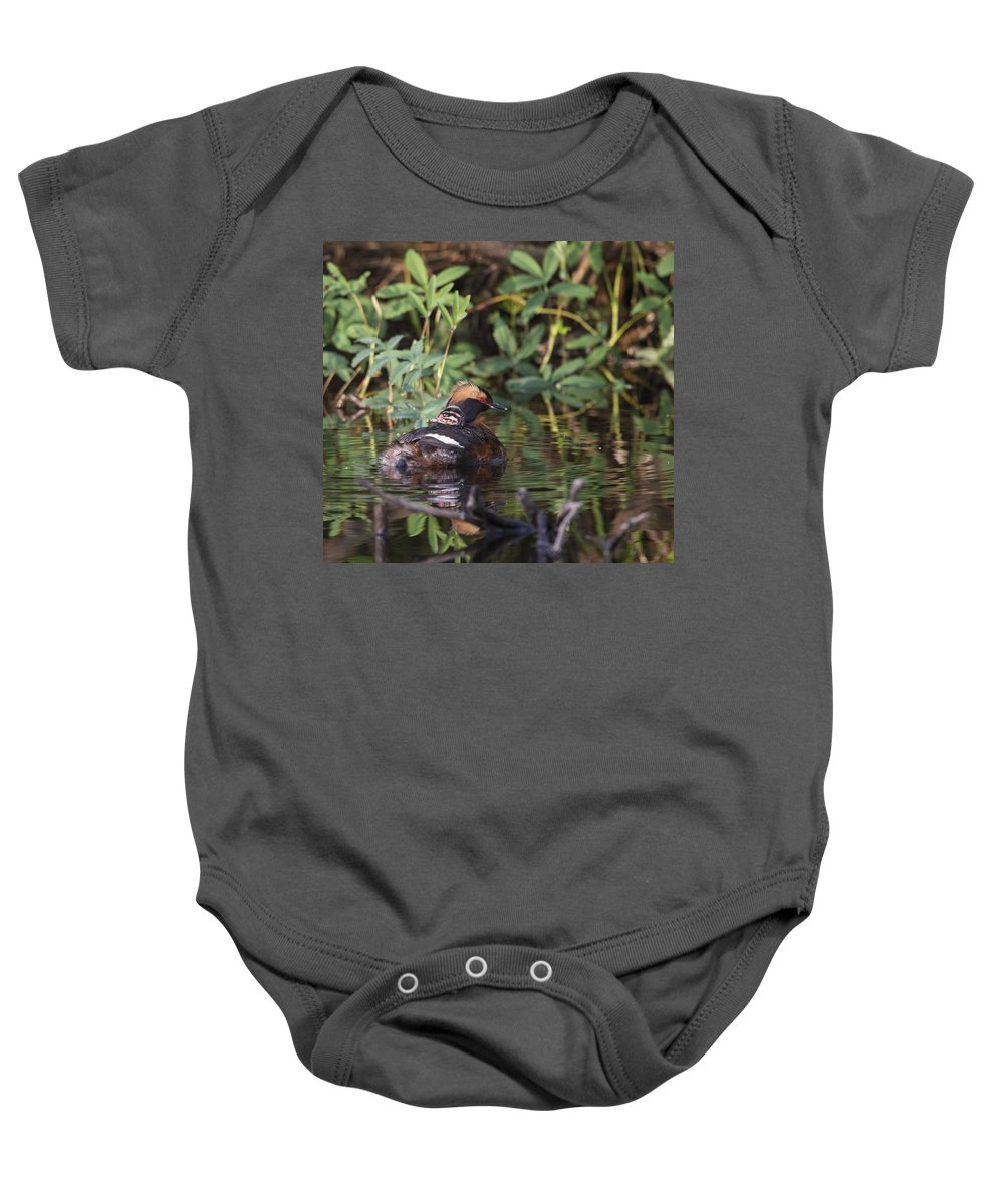 Doug Lloyd Baby Onesie featuring the photograph Mom And Me by Doug Lloyd
