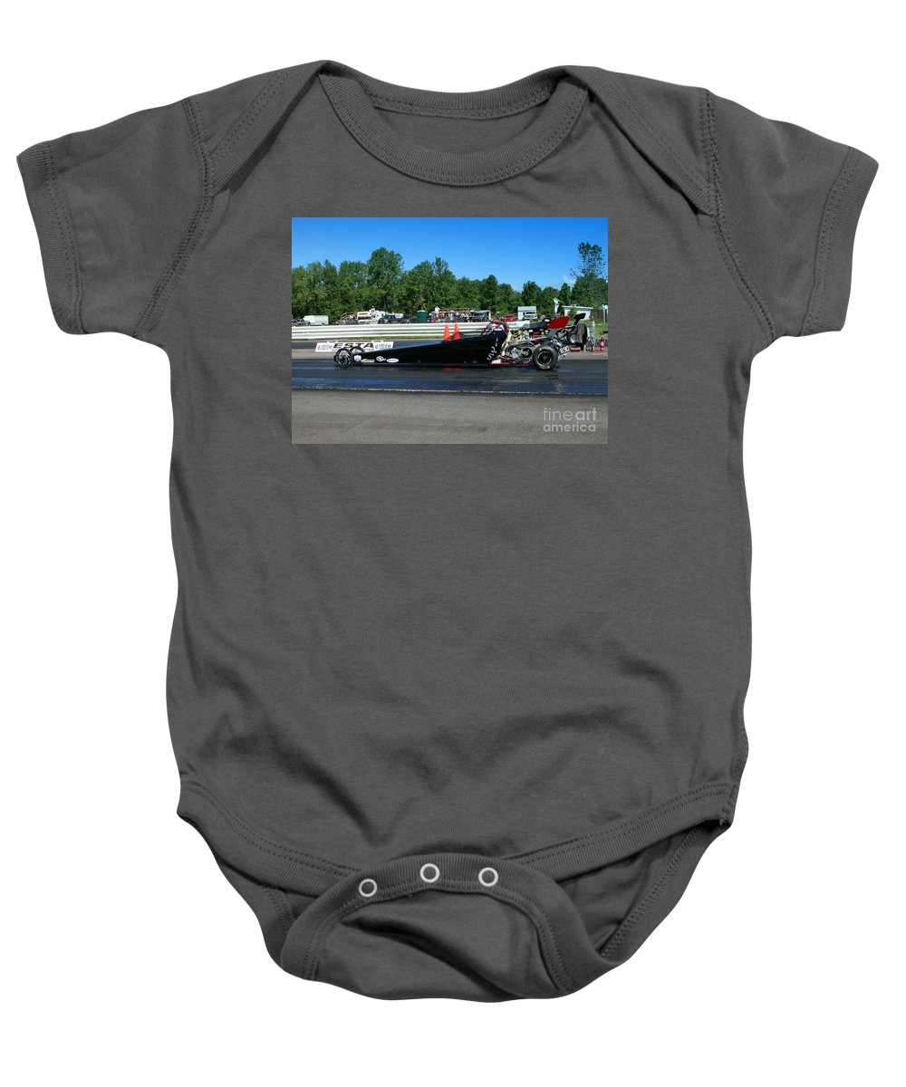 Esta Safety Park Baby Onesie featuring the photograph 4976 Esta Safety Park 08-24-14 by Vicki Hopper