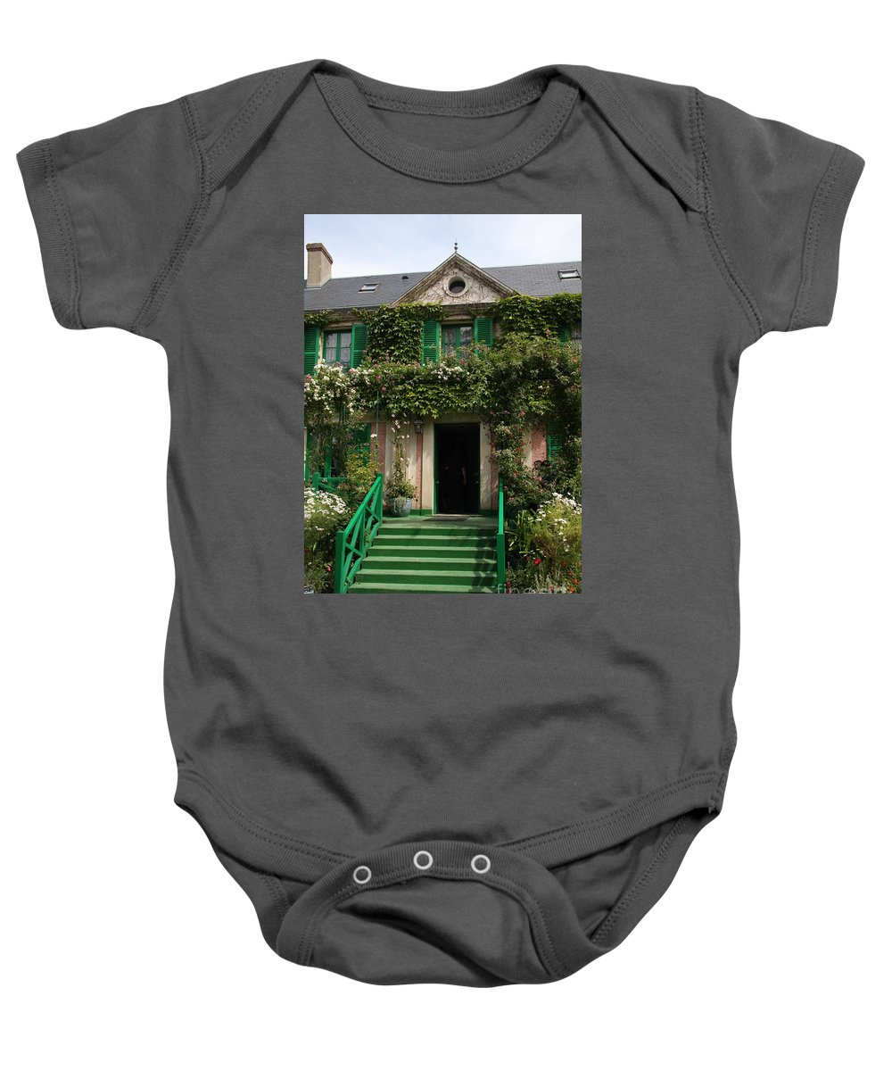 Monet Baby Onesie featuring the photograph Monets Garden - Giverney - France by Christiane Schulze Art And Photography