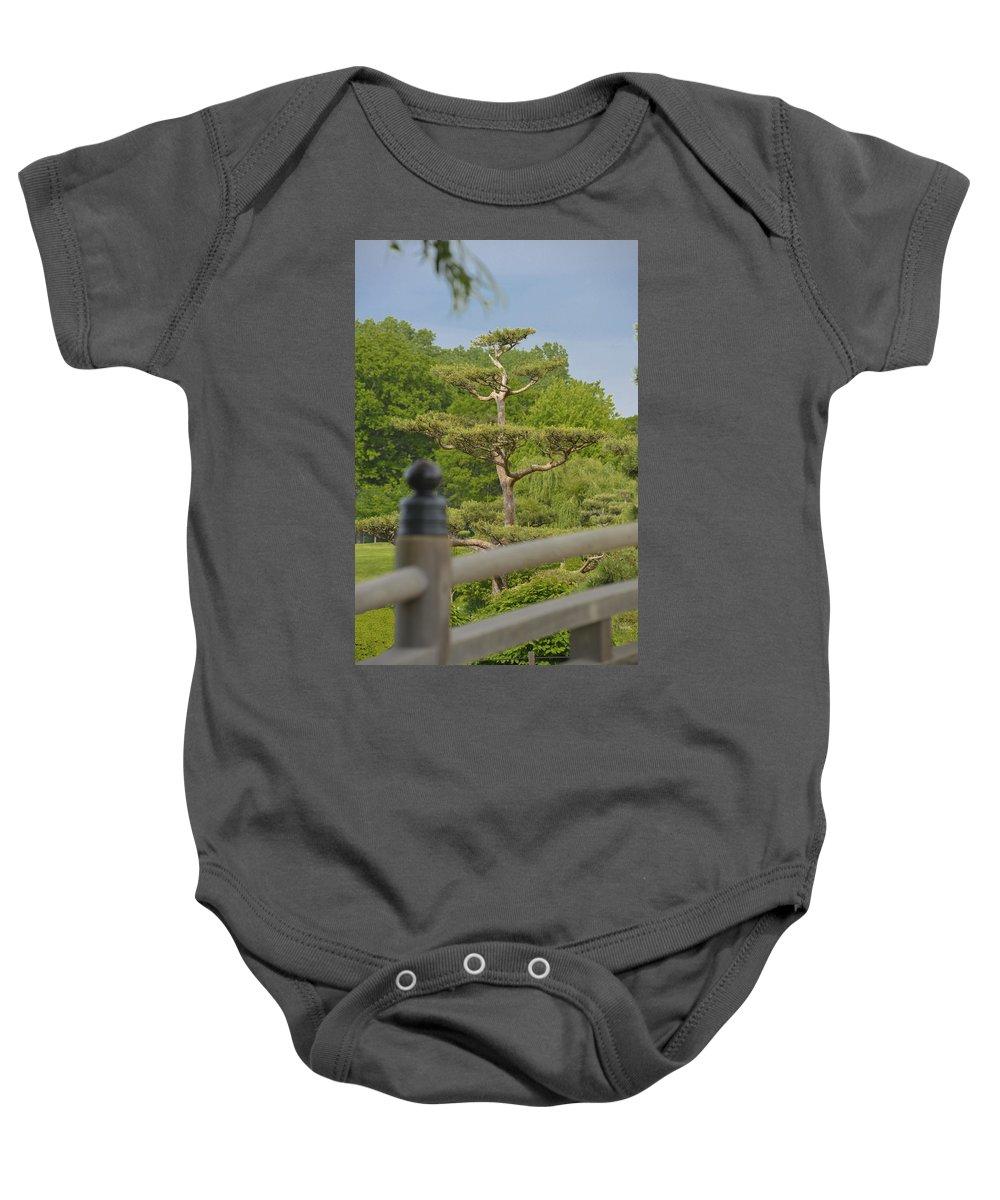 Asian Baby Onesie featuring the photograph Asian Garden Scene by Patrick Warneka
