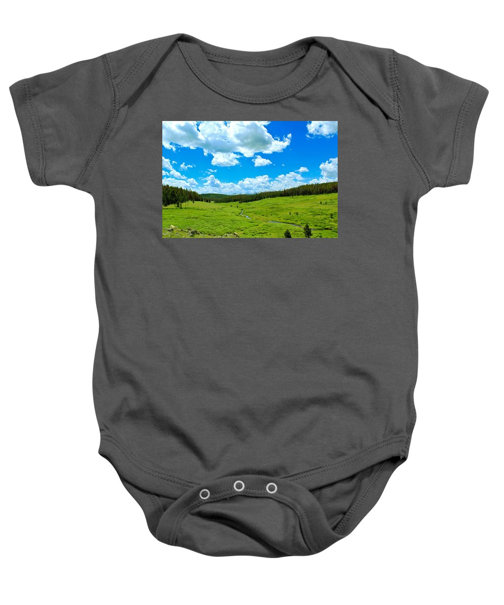 Landscape Baby Onesie featuring the photograph A Place To Relax by Shane Bechler