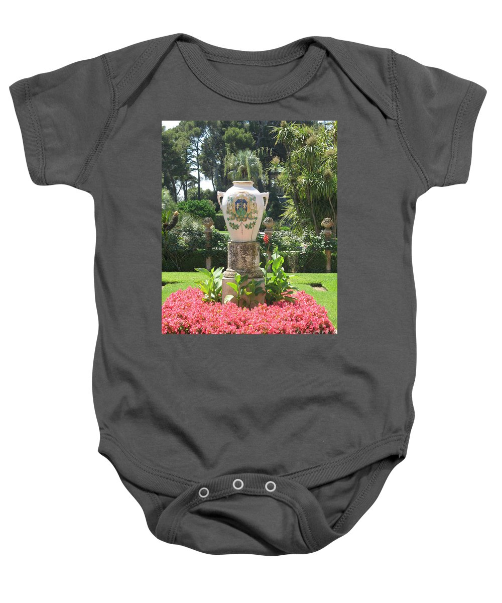 Amphora Baby Onesie featuring the photograph Amphora by Christiane Schulze Art And Photography