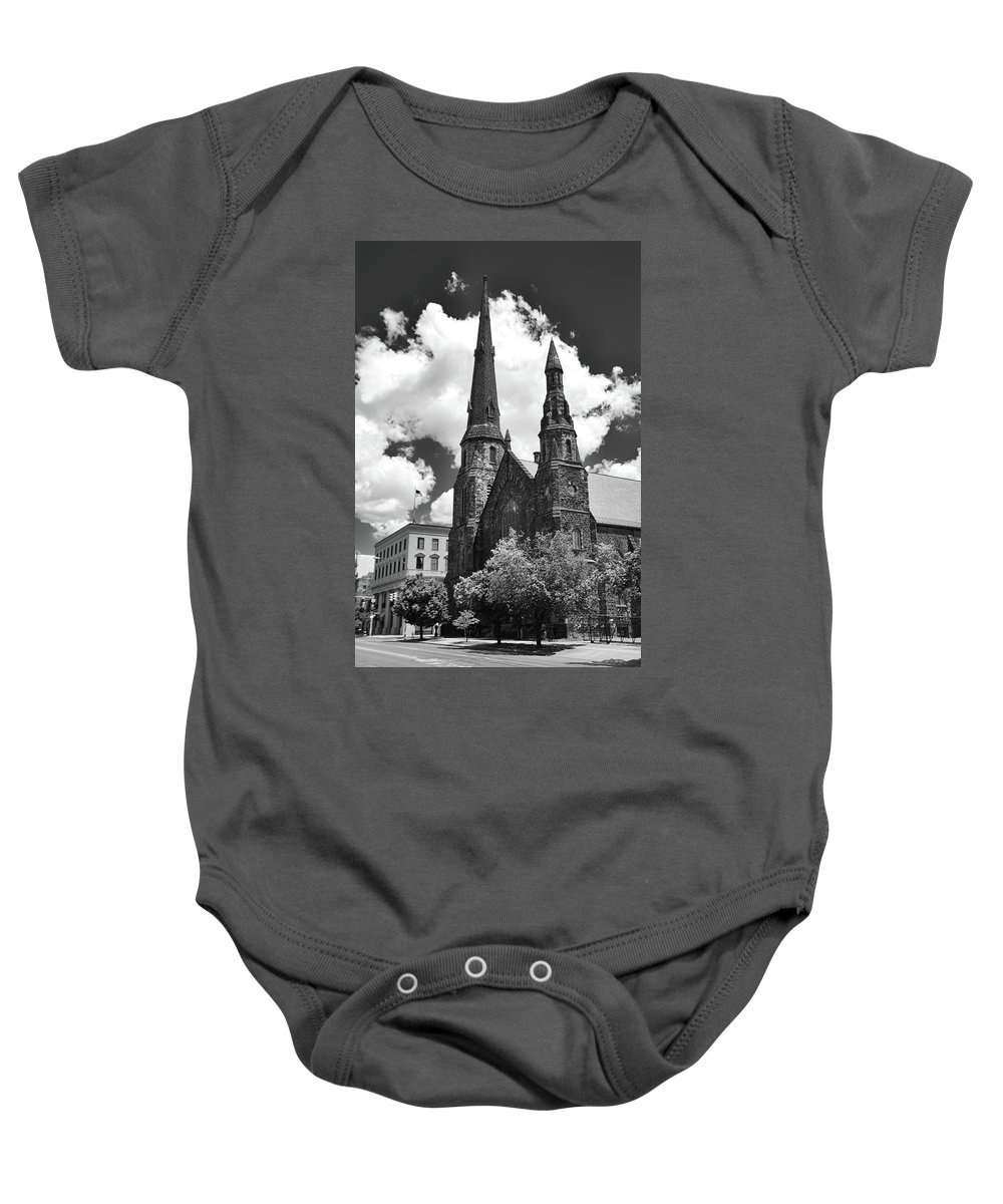 Architecture Baby Onesie featuring the photograph Ani's Place 15257 by Guy Whiteley