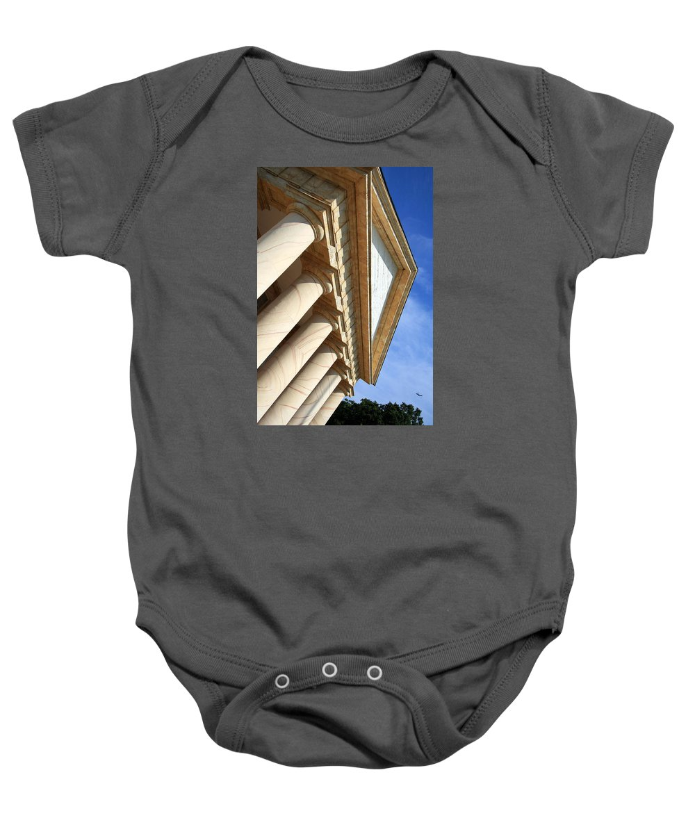Baby Onesie featuring the photograph Arlington House by Cora Wandel