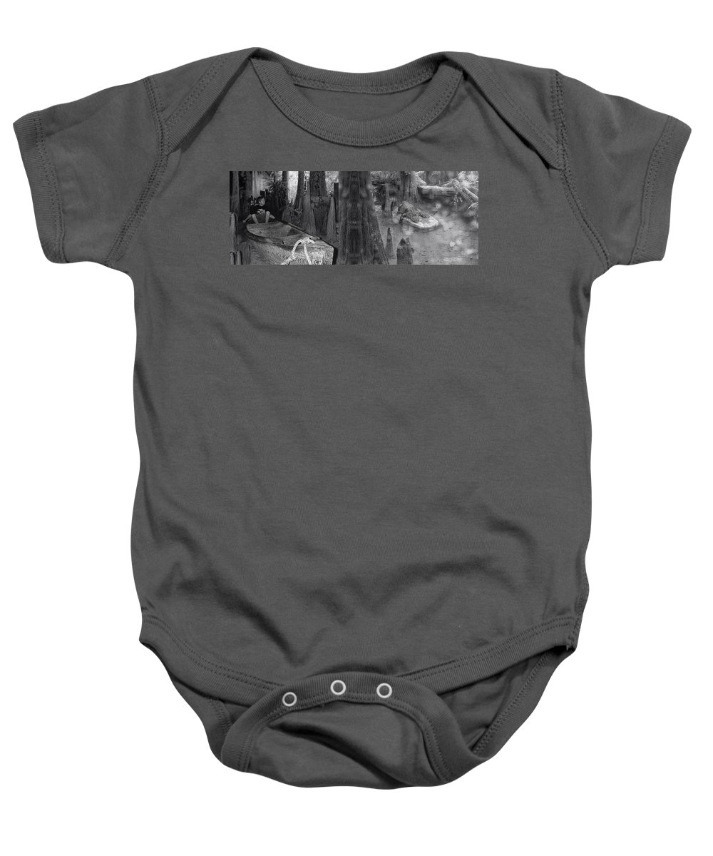 Gator Baby Onesie featuring the photograph Around The Next Bend Digital Art by Thomas Woolworth